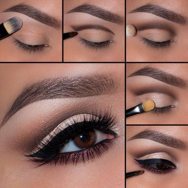 Идеальный макияж картинки пошагово