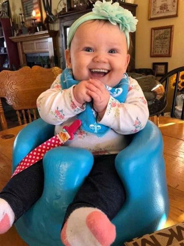 25 смешных младенцев с зубами, которые выглядят прикольно