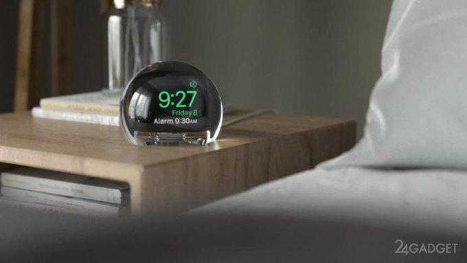 NightWatch «превращает» Apple Watch в настольные часы