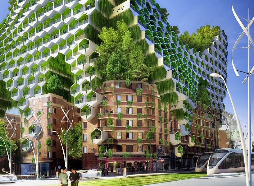 Архитектура будущего: кочующие небоскрёбы и зелёные города