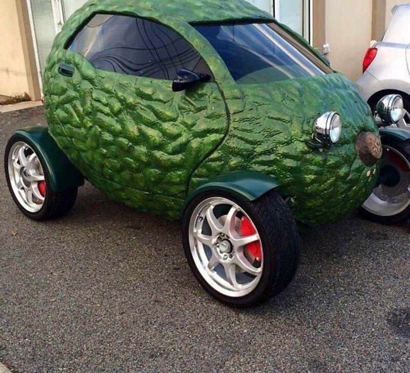 Прикольные фото с автомобилями гольф