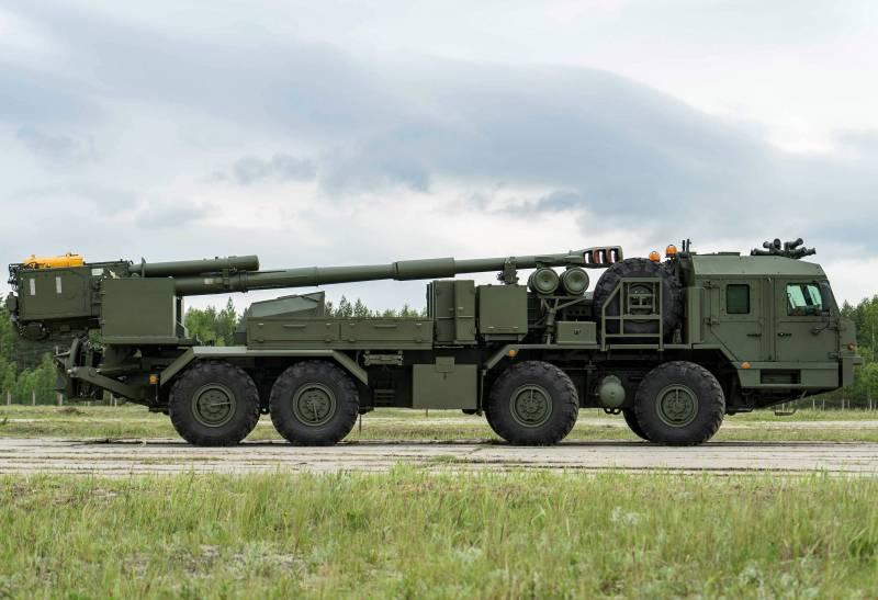 САО 2С43 «Мальва» идет на испытания оружие