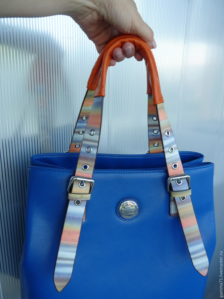 Способы крепления ручек у сумок
