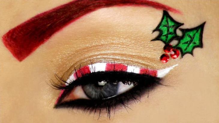 Полчаса для себя. Идеи новогоднего макияжа с пошаговыми инструкциями