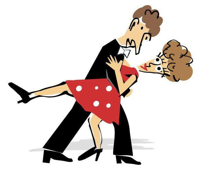 Рамка, танцы смешные рисунки