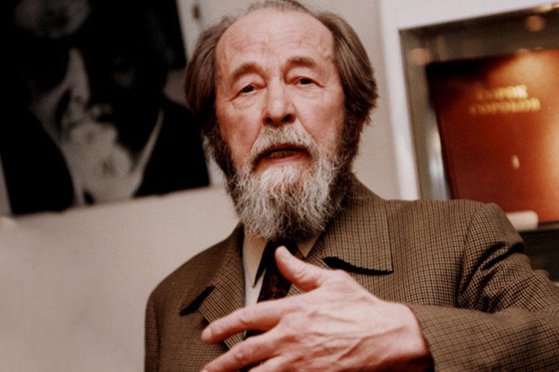 Солженицын оплевал и Сталинг…