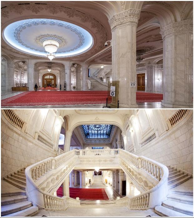 «Дворец Чаушеску» – самое большое здание в мире, над которым работало 700 архитекторов архитектрура,интерьер и дизайн