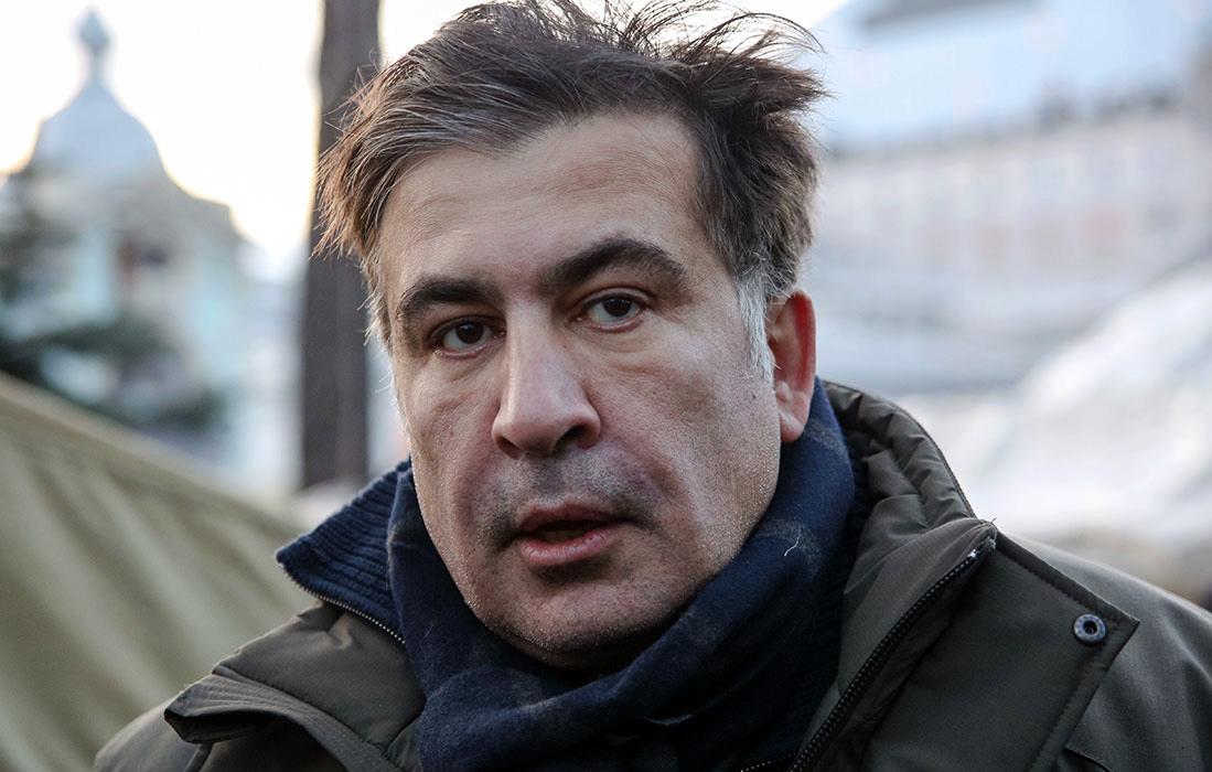 Будем ждать, пока «путинская» Россия развалится: Саакашвили приехал в Киев