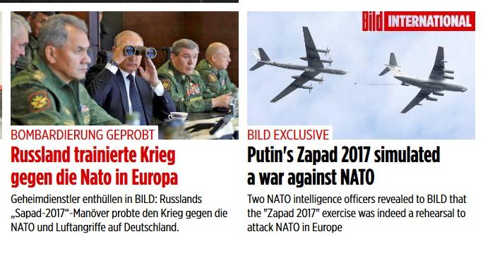 Германия в шоке - Россия бомбит НАТО