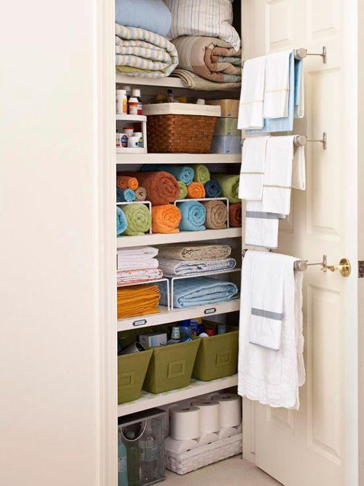 Хранение белья и полотенец