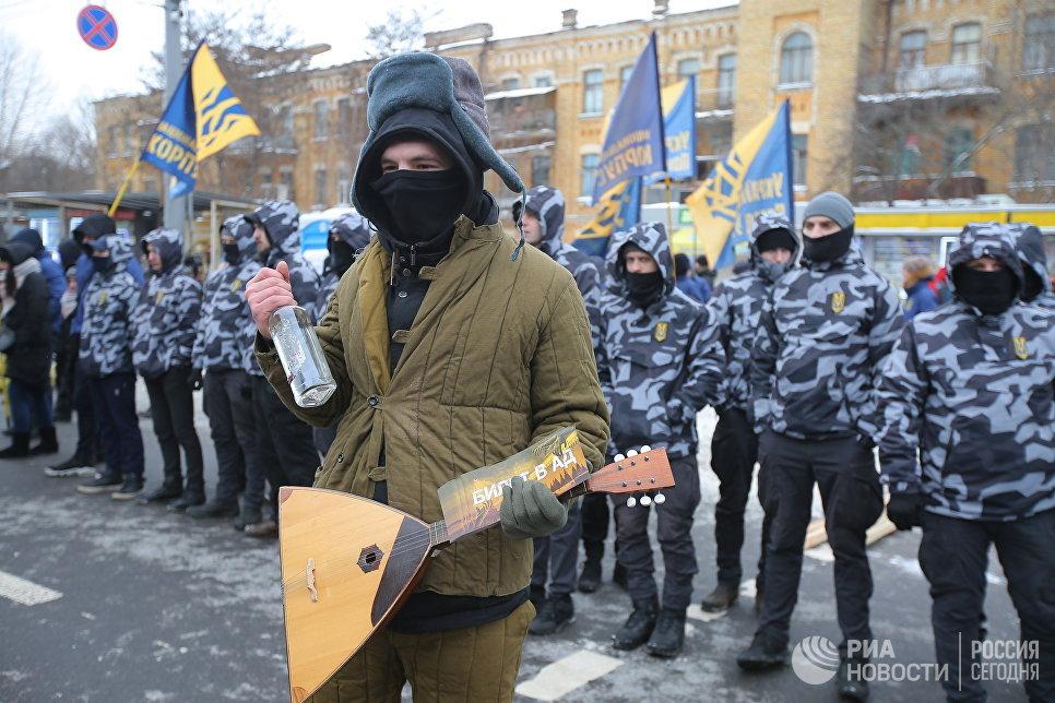 """Киевские """"европейцы» жгут чу…"""