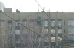 ВСУ обстреляли здание Минобороны ДНР из гранатомета
