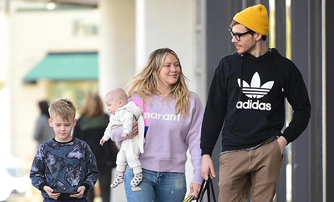 Все на пикник: Хилари Дафф и Мэттью Кома с детьми в Лос-Анджелесе Дети / Дети знаменитостей