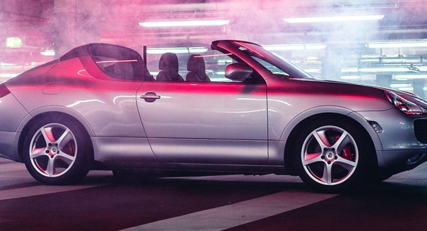 Продемонстрирован засекреченный ранее кабриолет Porsche Cayenne Автомобили