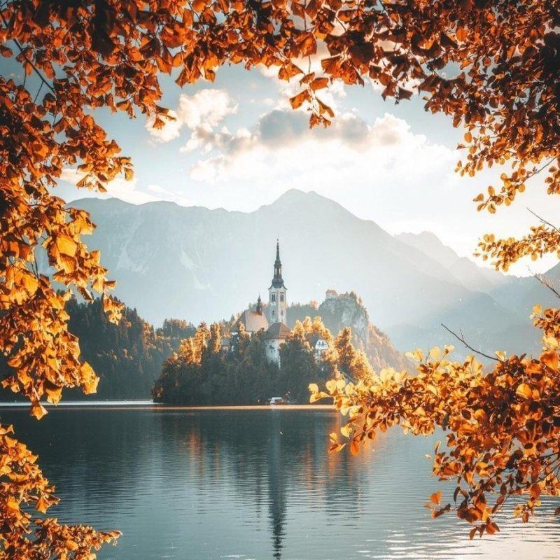Волшебные пейзажи фотографа …