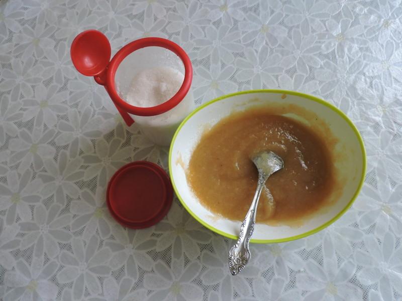 В пюре я добавила сахар еда, своими руками, сделай сам