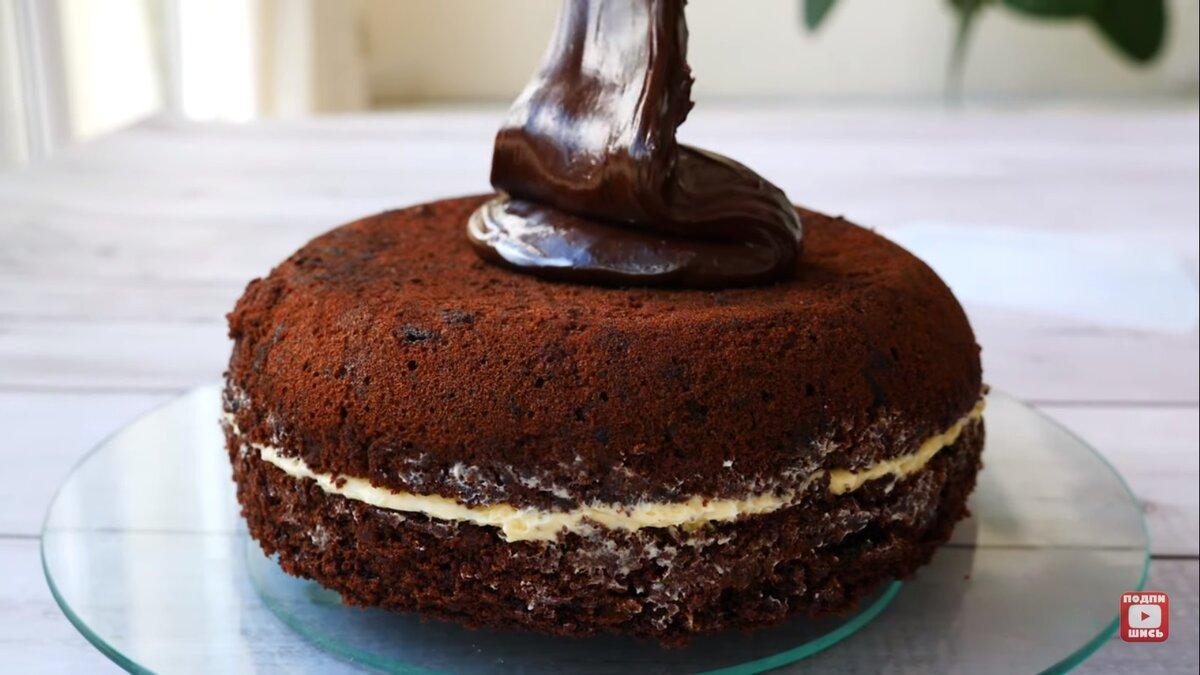 """Шоколадный Торт """"Каро"""" - очень вкусный и интересный десерты,сладкая выпечка,торты"""