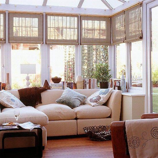 Интерьеры застекленной веранды - солнечные комнаты (sun rooms)