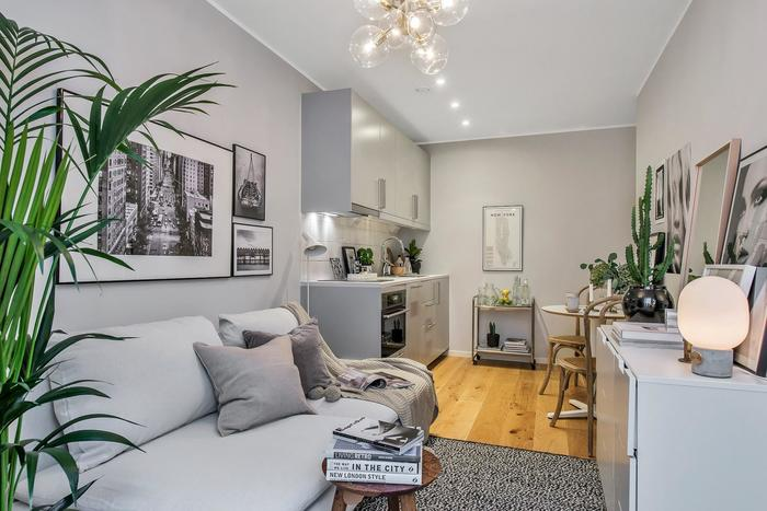 И снова о маленьких квартирах: 16 идей для вдохновения дизайн,идеи для дома,интерьер