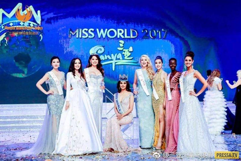 20-летняя Мануши Чхиллар - Мисс Мира - 2017