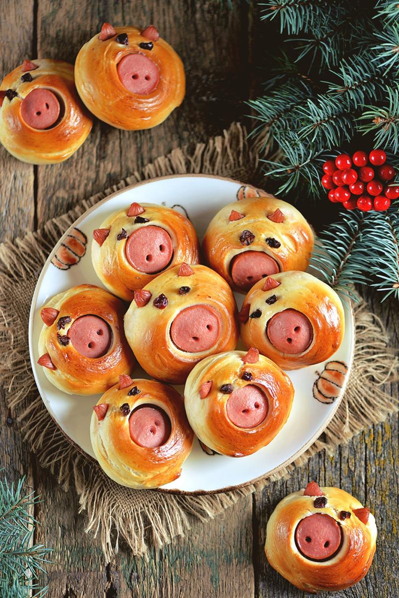 блюда в виде свиньи
