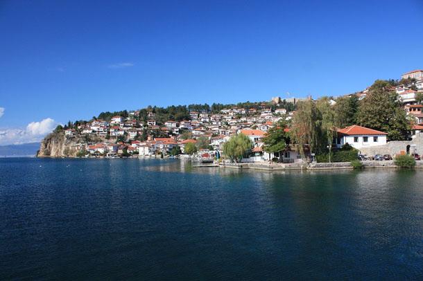 Город Охрид Македония