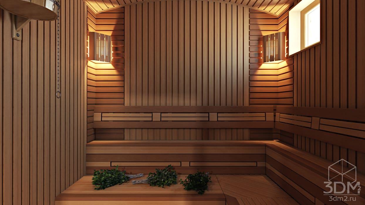 32: Спа, бани, сауны в . Автор – студия визуализации и дизайна интерьера '3dm2'