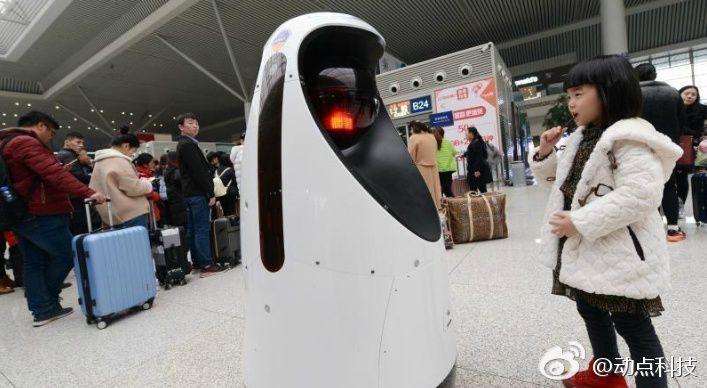 В Китае заработал робокоп