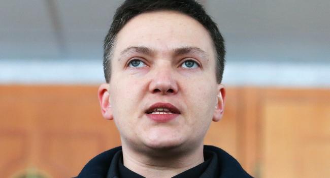 Сайт «Миротворец» внес Савченко в свою базу