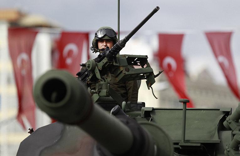 Турция захватила часть сирий…