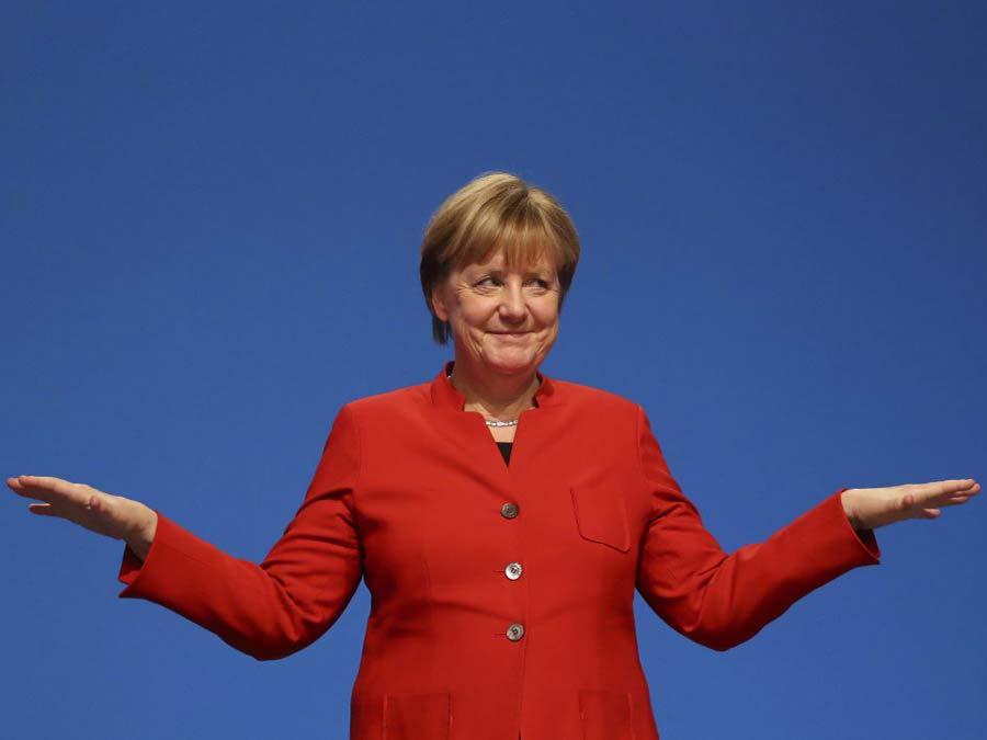 Изворотливости Ангелы Меркел…