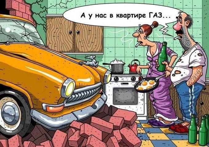 Анекдоты про автомобили и автомобилистов