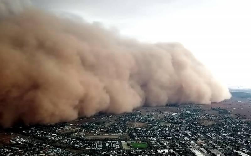 Китайская песчаная «буря десятилетия» угрожает России: почему это происходит Общество