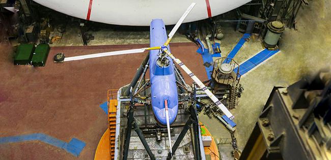 В ЦАГИ завершился очередной этап испытаний винта вертолета VRT500
