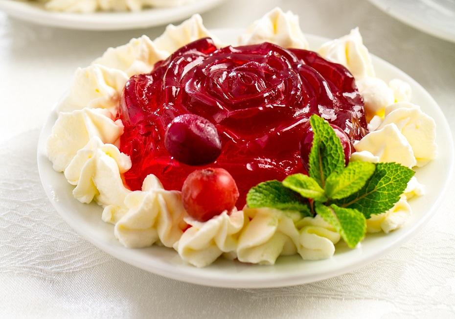 Клюквенный десерт десерты