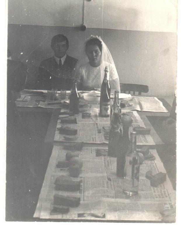 Бюджетная свадьба времен дефицита, СССР, 1960-е было, история, фото