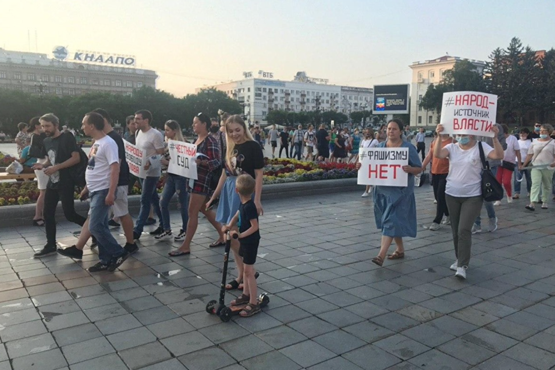 Хабаровский протест Политика