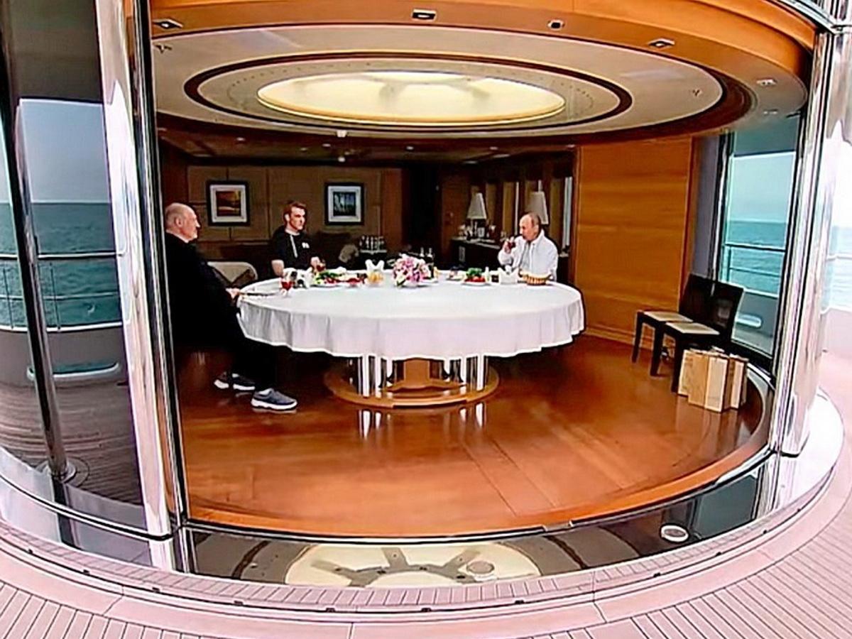 СМИ показали яхту Путина за €30 млн, на которой он принимал Лукашенко с Колей