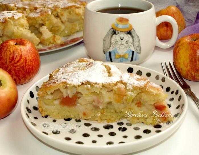 Пирог «Яблочный сидр»