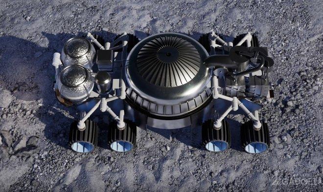 Система Masten будет добывать воду на Луне