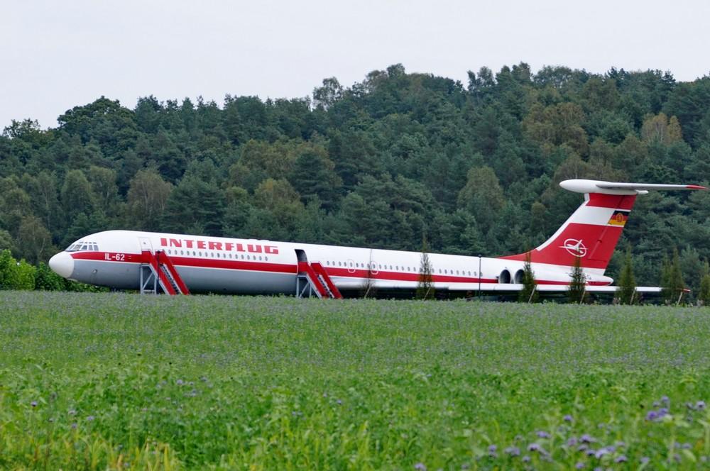 Ил-62 в музее Отто Лилиенталя в Штольне