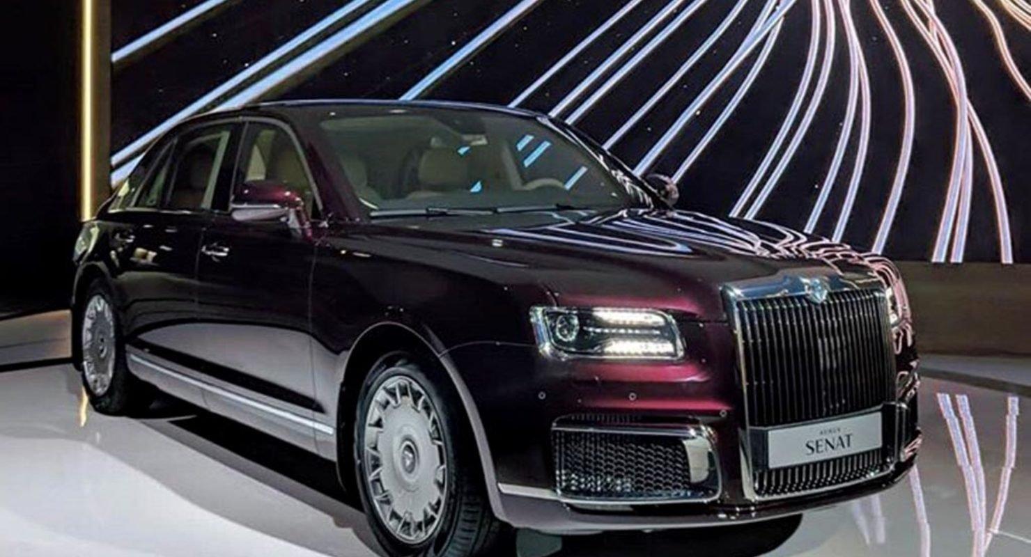 Особенности президентского премиального автомобиля Aurus Автомобили