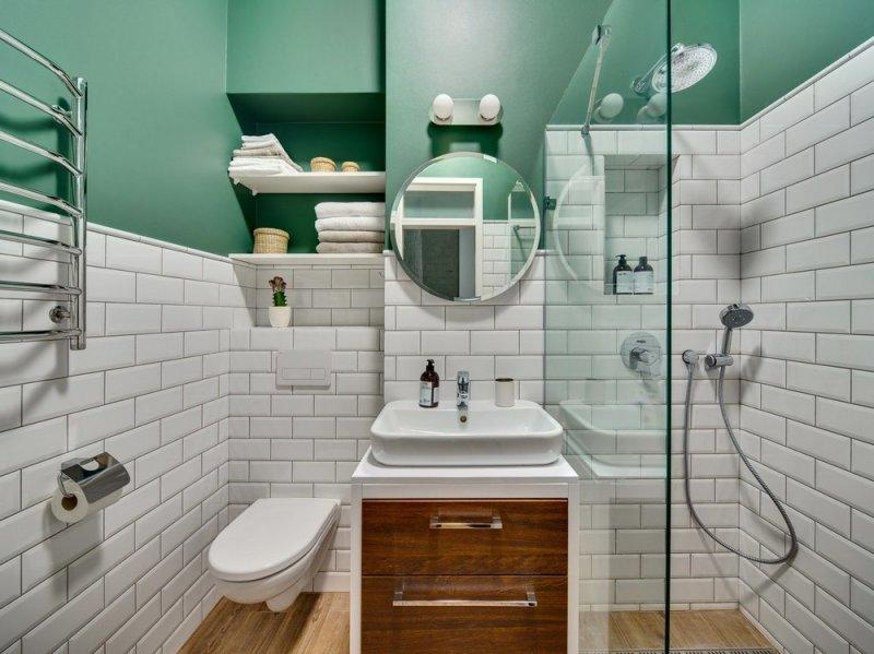 Маленькая ванная: как разместить все необходимое