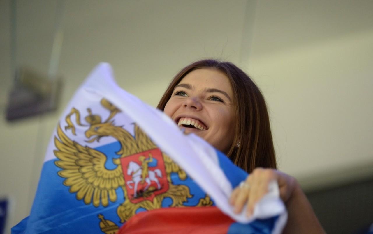 Алина Кабаева поддержала Пут…
