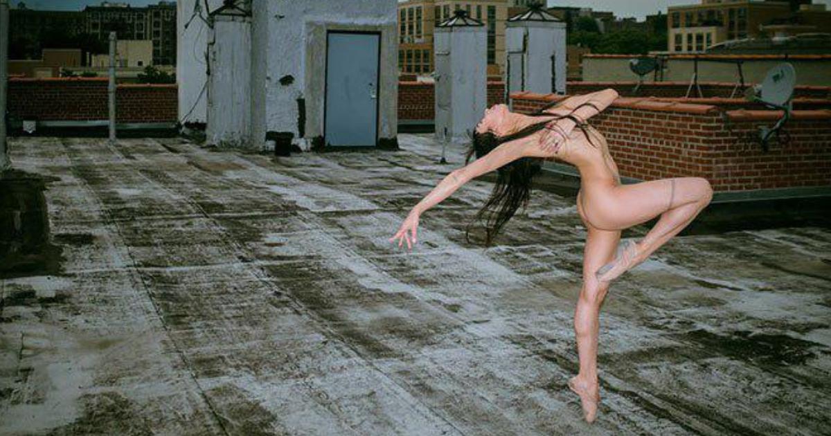 11 бесстрашных танцоров разделись на крышах Нью-Йорка