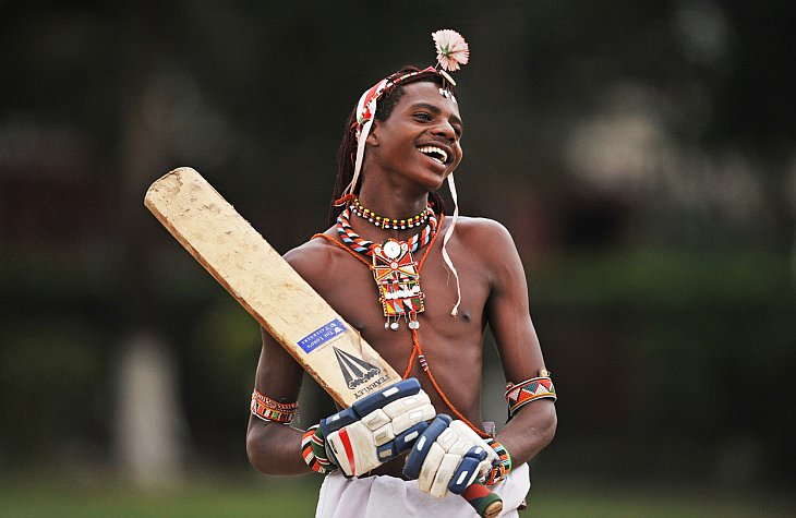 Крикет и воины Масаи