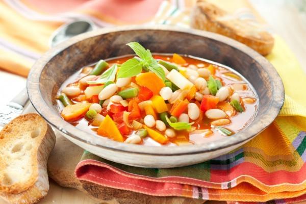 5 лучших весенних супов из овощей минут, кастрюлю, перец, картофель, морковь, нарежьте, добавьте, Добавьте, фасоль, масло, Затем, Через, чеснок, молотый, чтобы, влейте, помойте, поставьте, промойте, репчатый
