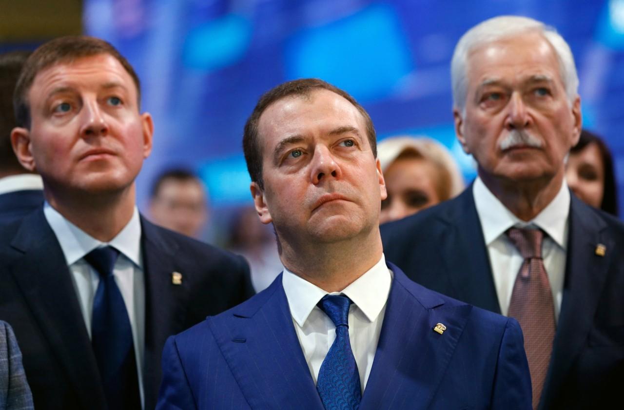 """Итоги съезда """"Единой России"""": прощание с Медведевым началось"""