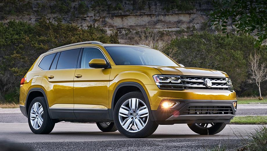 Volkswagen › Кроссовер Volkswagen Teramont предложен по умеренной цене