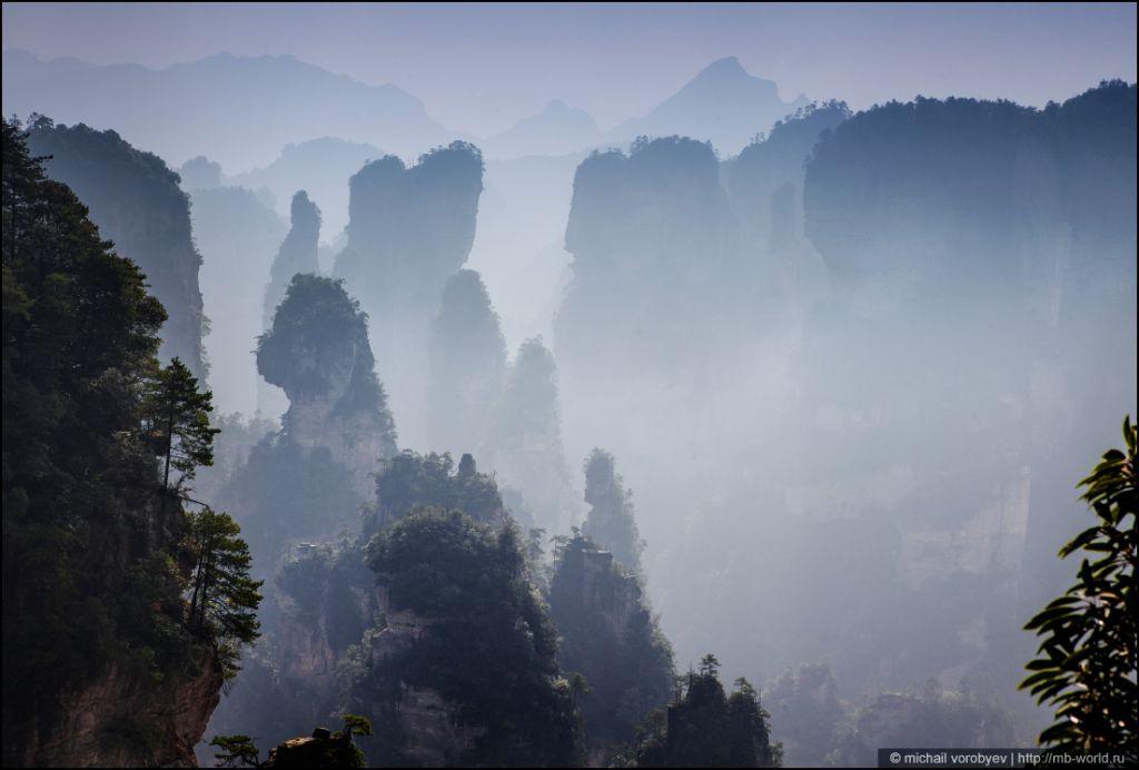 Летающие скалы «Аватара» — Улинъюань в национальном парке Чжанцзяцзе, Китай путешествия